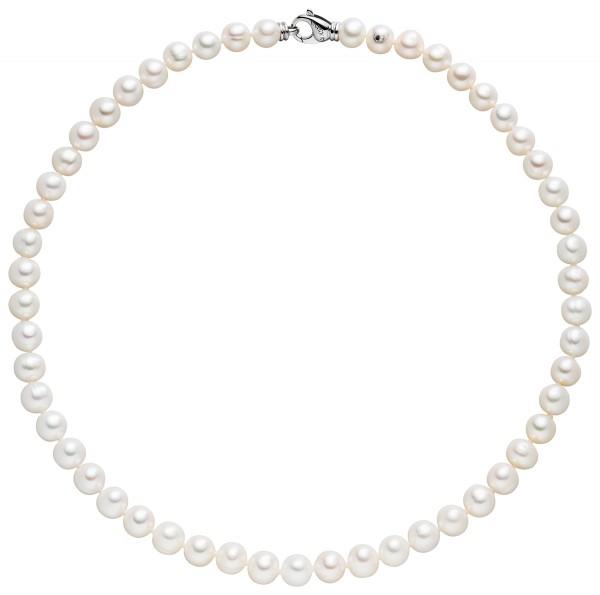 Perlenkette Süßwasser 6-7 mm