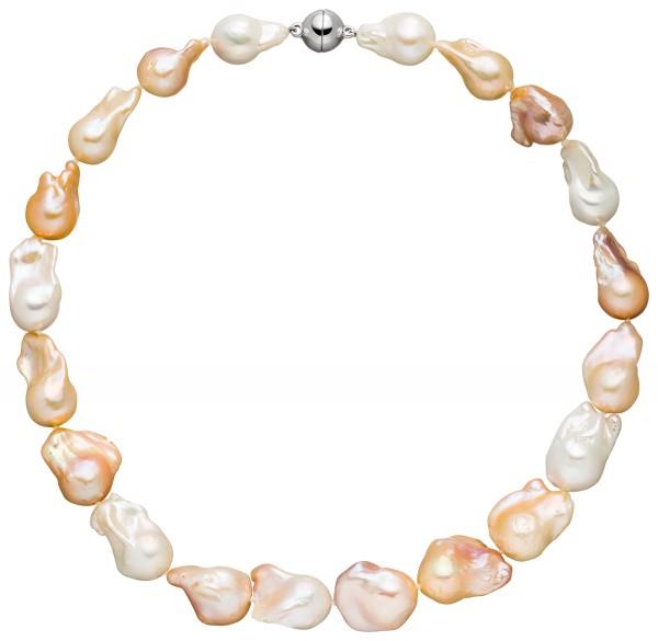 Perlenkette Süßwasser 12-15 mm